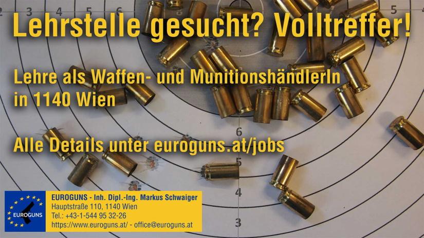 Lehrstelle als Waffen- und MunitionshändlerIn