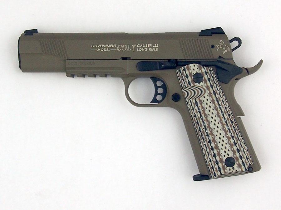 Colt Government 1911 Rail Gun